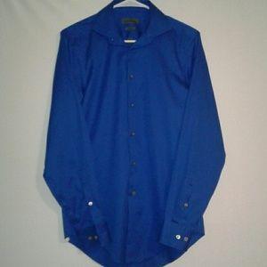 Calvin Klien Blue Button Down Dress Shirt